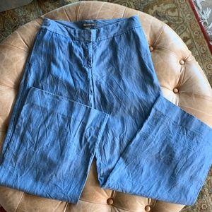 Tommy Bahama Chambray Wide Leg Pant Size 4